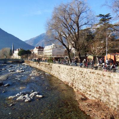 Merano fiume Passirio