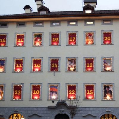 Palazzi addobbati di Bolzano