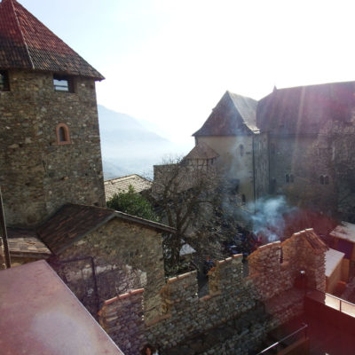 Castel Tirolo - veduta dal Mastio