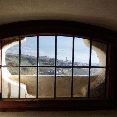 Castel Tirolo - finestra interna