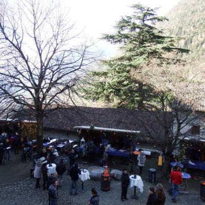 Castel Tirolo - veduta dal camminamento