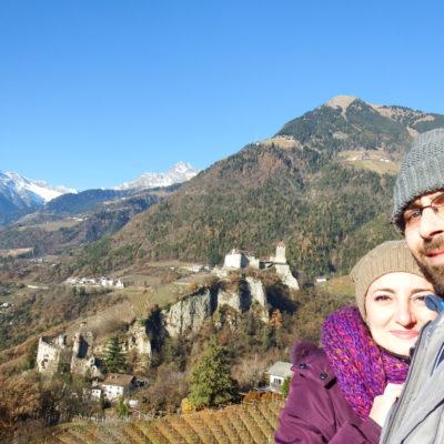 Castel Tirolo - io e Fabio