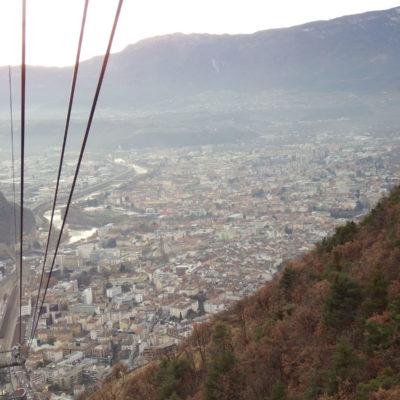 Bolzano dalla Funivia del Renon