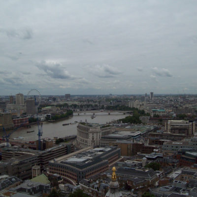 Londra dalla cima della St. Paul's chatedral