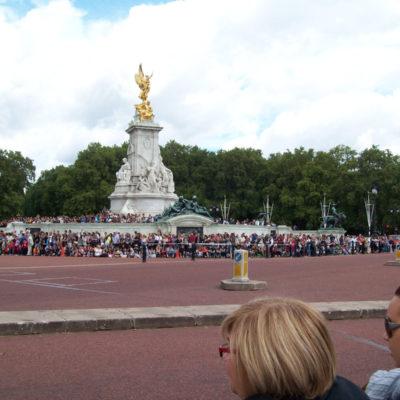Queen Victoria Memorial - Cambio della guardia
