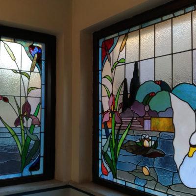 Casina delle Civette vetrate