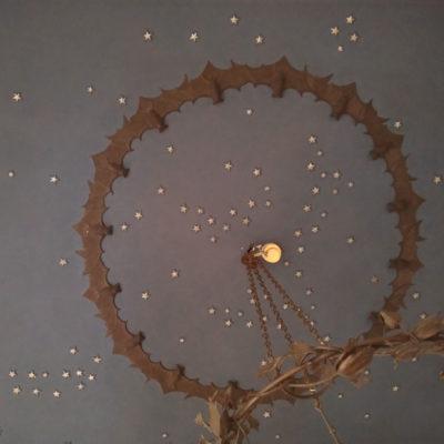 Casita-delle-civette-decorazione-soffitto-interno