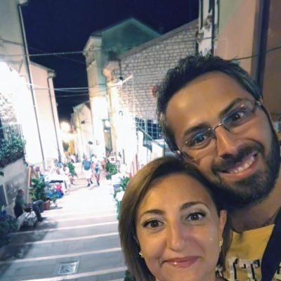 Michaela e Fabio Costarella di Numana