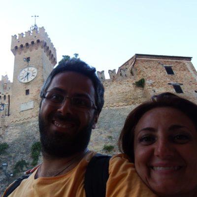 Michaela e Fabio a Offagna
