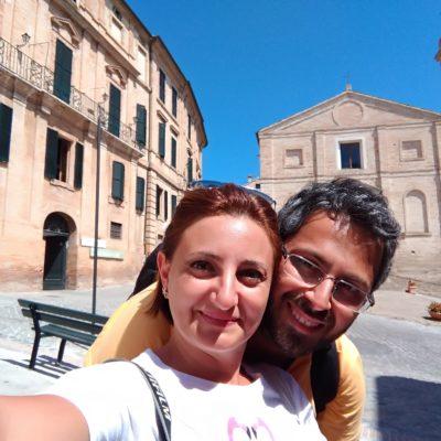 Michaela e Fabio a Recanati