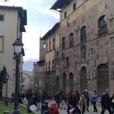 Arezzo verso il duomo