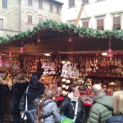Mercatini piazza Grande Arezzo2