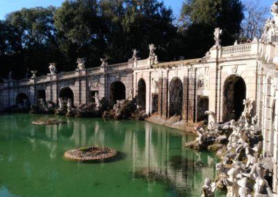 Fontana centrale parco reggia di Caserta