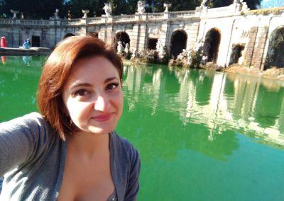 io Fontana centraleparco reggia di Caserta