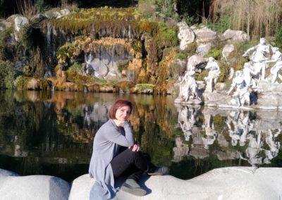 Fontana superiore Reggia di Caserta