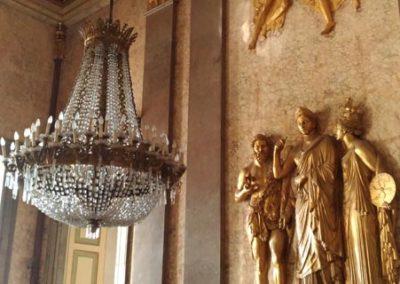 Sala interna reggia di Caserta
