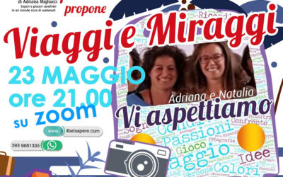 Viaggi e Miraggi: un sabato sera fra amici e racconti online