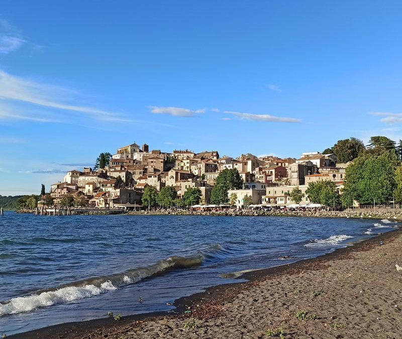 Anguillara Sabazia incantevole borgo sul lago di Bracciano