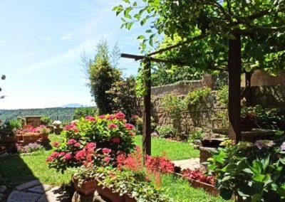 civita di bagnoregio giardino