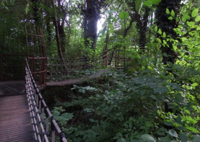 Giardini di Castel Trauttmansdorff ponti