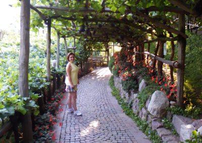 Giardini di Castel Trauttmansdorff vialetto