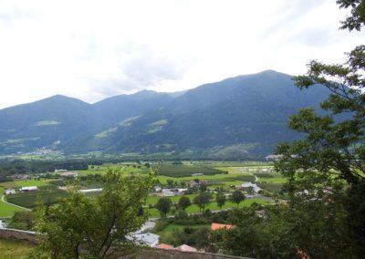 Veduta da Castel Coira