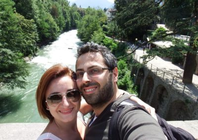 michaela e fabio dal ponte romano