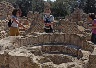 tempio di giove cuma fonte battesimale