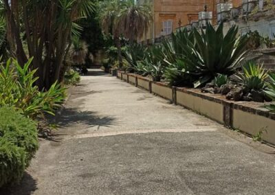 orto botanico portici mura