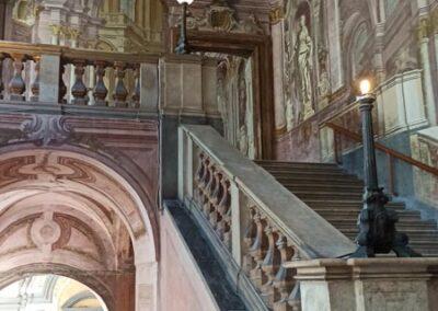 reggia di portici scalone principale