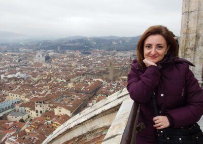 Foto dal Campanile della Cattedrale di Firenze