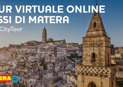 Pasquetta online ai Sassi di Matera tour virtuale