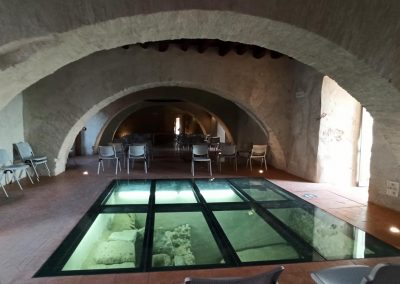 Castello Santa Severa pavimento
