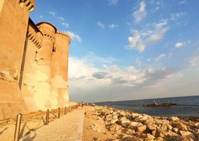 Castello di Santa Severa mare