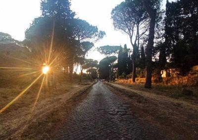 Tramonto Via Appia Antica