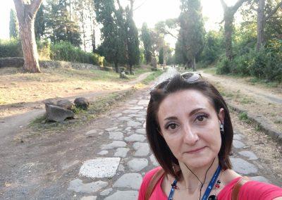 Michaela Via Appia Antica