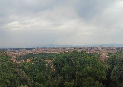Veduta belvedere del Gianicolo