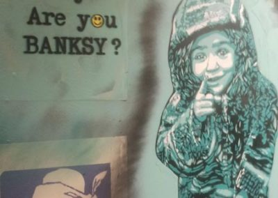 Are you Banksy