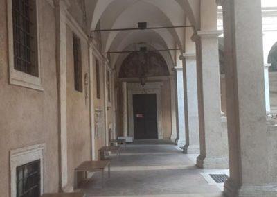 Chiostro del Bramante portico