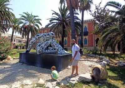 Lungomare Reggio Calabria scultura