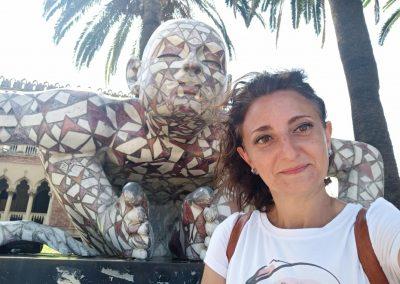 Lungomare Reggio Calabria scultura mika