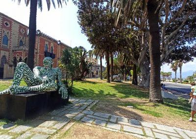Lungomare Reggio Calabria sculture