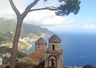 Villa Rufolo veduta cupole