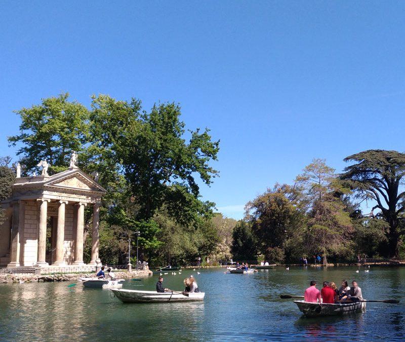 Passeggiata a Villa Borghese, cosa vedere