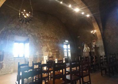 Palazzo Bonifacio VIII Sala degli Scacchi