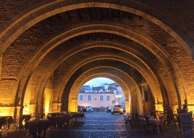 Palazzo comunale o della Ragione archi